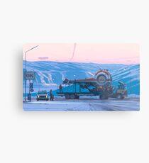 Schiff 14 Metalldruck