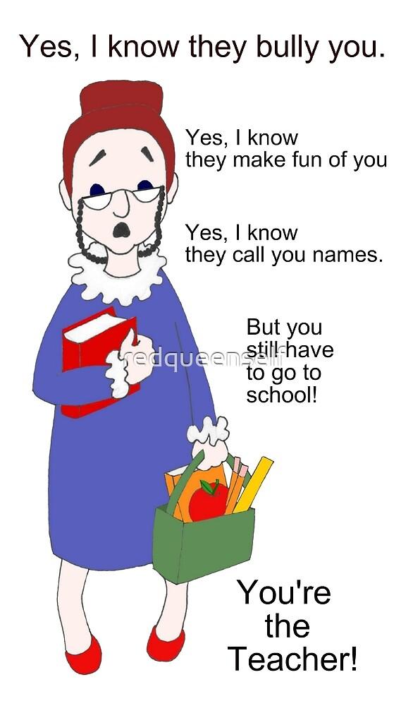 You're the Teacher by redqueenself