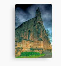 A mighty fortress is our god Canvas Print