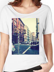 SoHo Street Corner Women's Relaxed Fit T-Shirt