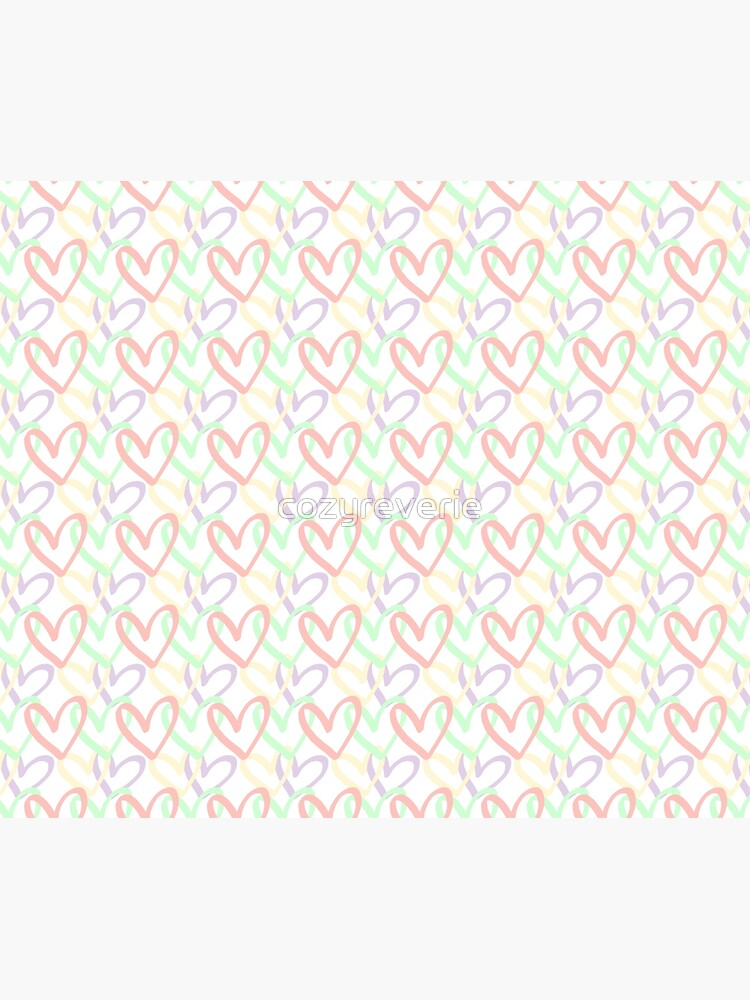Pastel Hearts by cozyreverie