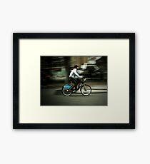 boris bike Framed Print