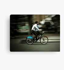 boris bike Canvas Print