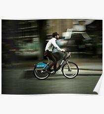boris bike Poster