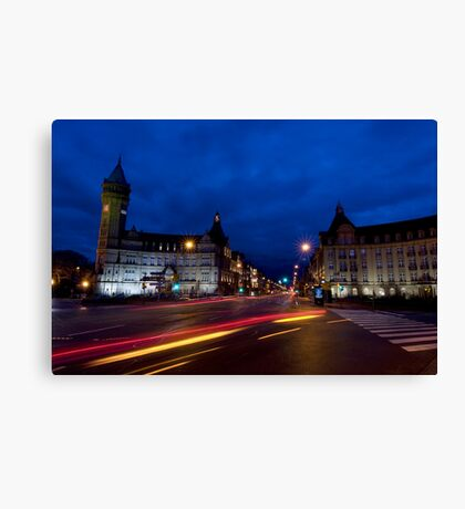 Luxembourg - Ville de Luxembourg Canvas Print
