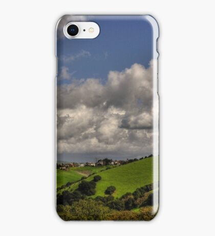 small village in the hills  iPhone Case/Skin