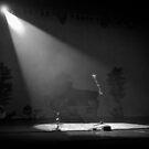 Lonely microphone by laurentlesax
