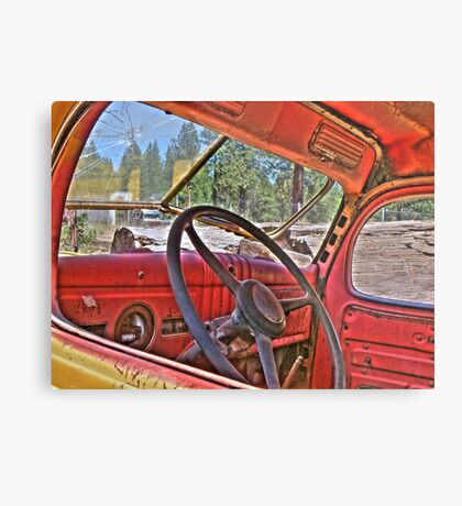 1940s dodge logtruck Metal Print