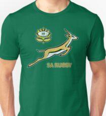 SA Rugby - Vintage Springbok logo Slim Fit T-Shirt