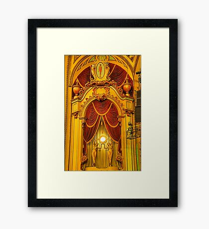 Palace Of Dreams - State Theatre Sydney #3 - The HDR Experience Framed Print