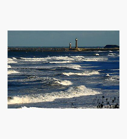 The Harbour Whitby Photographic Print