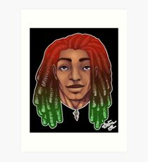 Dreads are cool. Art Print
