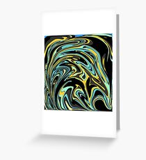 Oil Spill Greeting Card