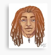 Dreads are my thing Canvas Print