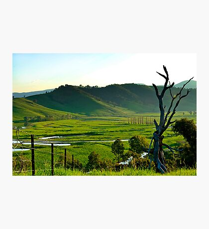 The Murray River Valley Photographic Print