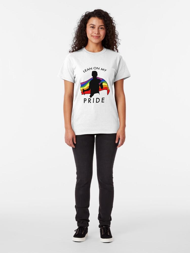 Alternative Ansicht von LEHNE AUF MEINEN STOLZ Classic T-Shirt