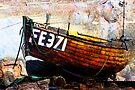 Boat at Deal, Kent, UK by David Carton