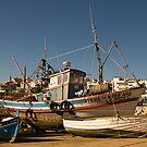 Algarve: Lagos Harbour by Kasia-D