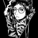 Glasses and Peony  by retkikosmos