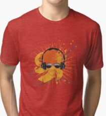Male Dj Illustration Tri-blend T-Shirt