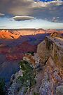 Grand Canyon National Park Cloud Reflection Vertical by photosbyflood