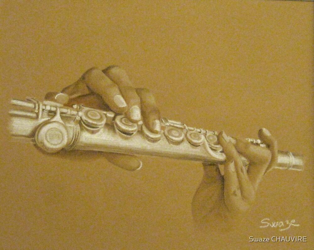 « La flutiste » par Swaze CHAUVIRE