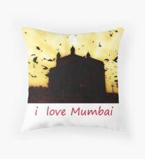 i Love Mumbai - Mumbai Meri Jaan Throw Pillow