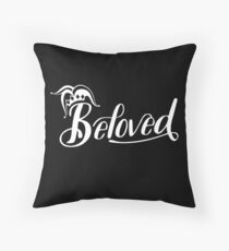 Beloved (White) Throw Pillow