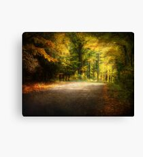 Autumn Lane • Door County Canvas Print