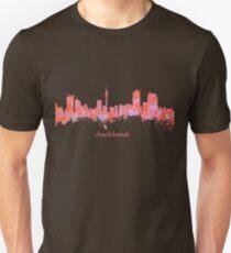 Auckland New Zealand Skyline art T-Shirt