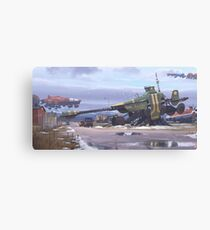 Shipyard Canvas Print