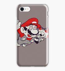 Mario Flying Mushroom iPhone Case/Skin
