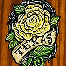 Texas Rose Wood by crashartaustin