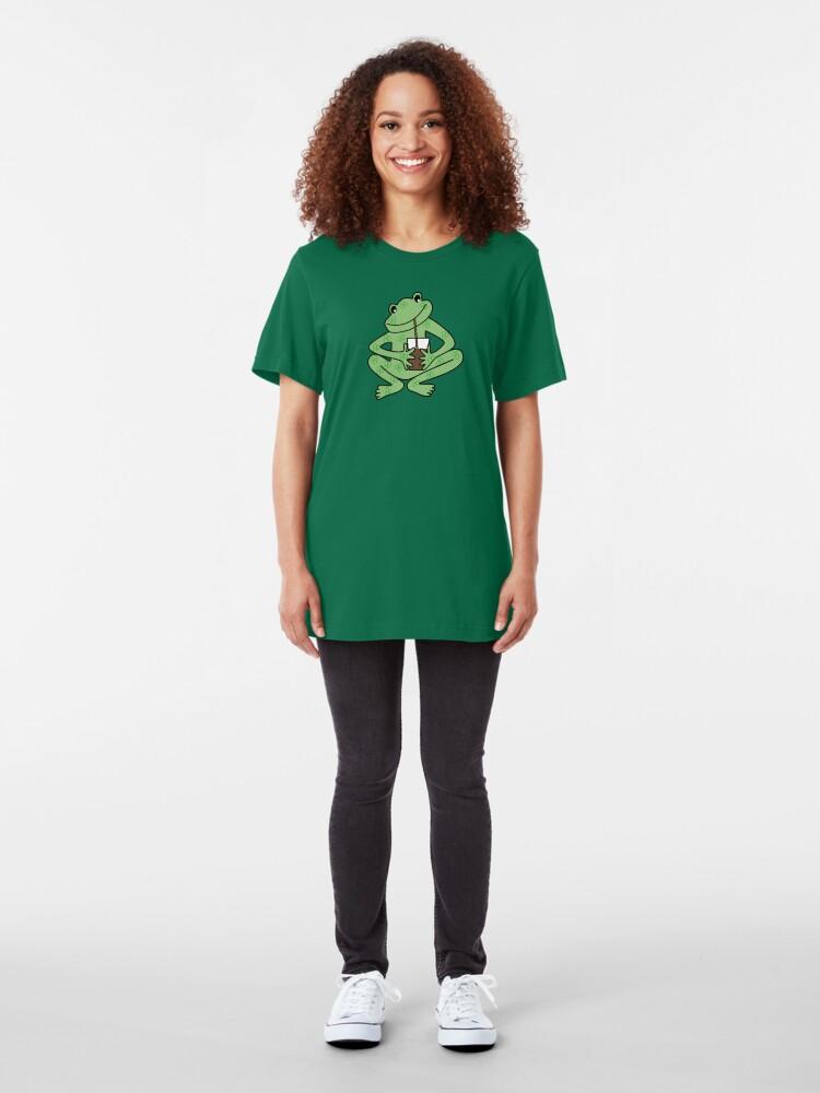 Alternate view of NDVH Alberto Frog Slim Fit T-Shirt