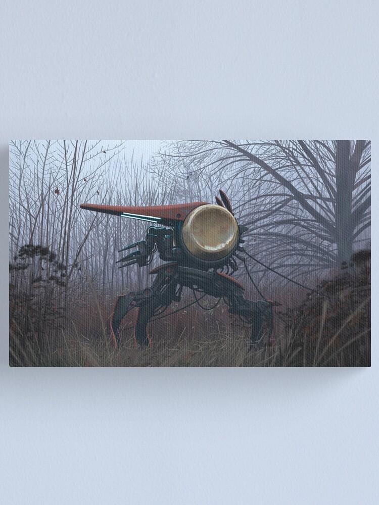 Alternate view of Guldklockan Canvas Print