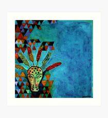 Pythagoras Among the Wolves Art Print