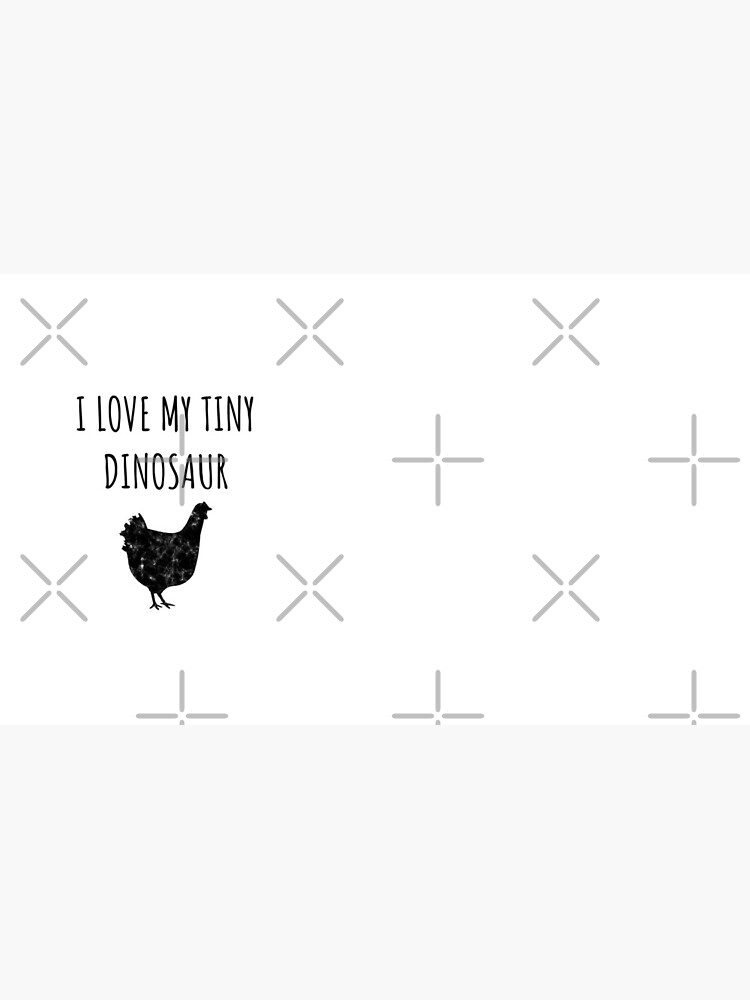 Tiny Dino - Funny Chicken Gift for Chicken Farmers  von greatshirts