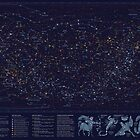 All the stars you can see from Earth by Eleanor Lutz