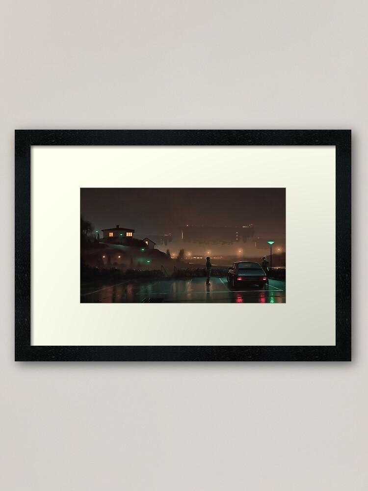 Alternate view of Gaussfraktarna Framed Art Print