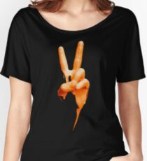 Peace Paint Women's Relaxed Fit T-Shirt