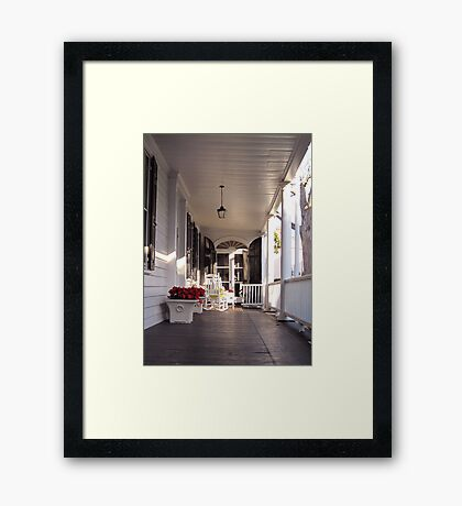 Southern Lifestyle in Charleston Framed Print