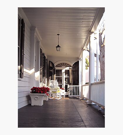 Southern Lifestyle in Charleston Photographic Print