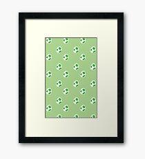 Yoshi's Egg Pattern Framed Print