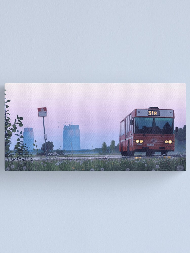 Alternate view of Busride Canvas Print