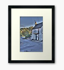 The Rose and Crown,Shorne Framed Print