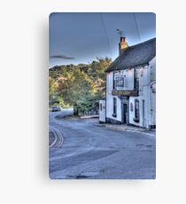 The Rose and Crown,Shorne Canvas Print