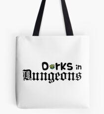 Dorks in Dungeons Logo! Tote Bag