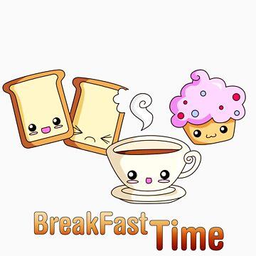 BreakFast Time by bastetsama