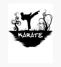 KARATE Photographic Print