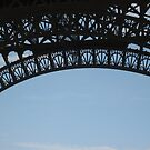 An Arch in the Sky, the Eiffel Tower by Danielle Ducrest
